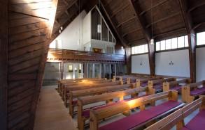 Kirchenraum von der Seite